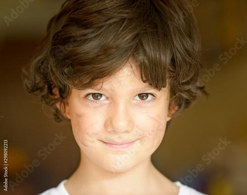 Fényképezés  Retrato de niño sonriente