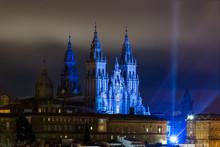Towers Of Santiago De Composte...