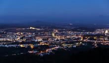 Santiago De Compostela Viw Fro...