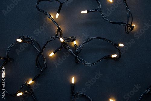 Luces de navidad Fototapeta