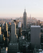 Architecture of modern Manhattan borough