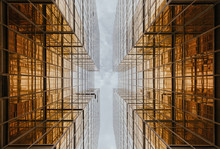 Buildings Reflecting Each Othe...
