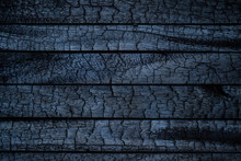 BBQ Background. Burnt Wooden B...