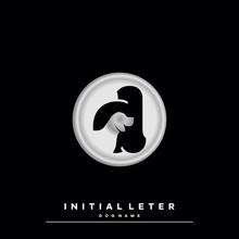 Emblem Initial Letter D Name D...
