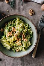 Delicious Vegan Pasta With Green Pesto