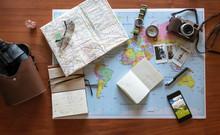 Details Of A Traveler Desk
