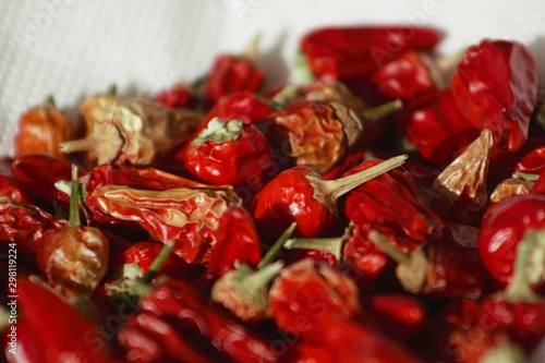 Valokuva some like it hot: growing colourful peppers, harvested peppers
