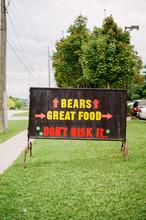 Restaurant Sign Advertising Gr...