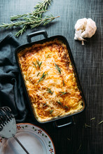 Food: Delicious Potato Gratin With Rosemary