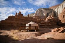 Yurt In The Desert