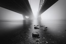 View Under The Big Bridges Acr...