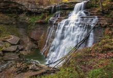 Autumn At Brandywine Falls, Ohio
