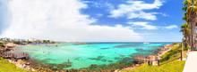 View Of Fig Tree Bay And Protaras. Protaras. Cyprus
