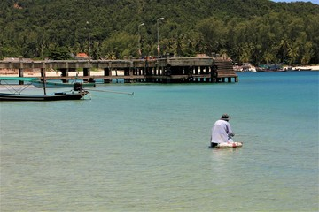 Fototapeta na wymiar thailande plage