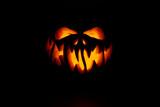 Fototapeta Kawa jest smaczna - Real Jack O Lantern for halloween