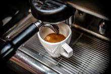Close Up Of Espresso In Coffee...