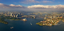 Aerial View Of  The Bay Of Sydney, Australia