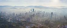 Aerial View Of Kuala Lumpur Du...