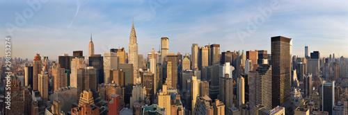 Foto Murales Aerial view of Chrysler Building in Manhattan, New York, USA