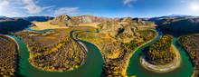 Aerial View Of Chuya River Cro...