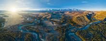 Aerial View Of Chuya River Pas...