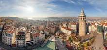 Aerial View Of Istanbul Tower ...
