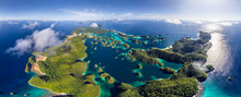 Panoramic Aerial View Of Wajag...
