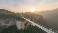 Aerial View Of Zhangjiajie Gla...