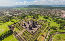 Aerial View Of Of Prambanan Te...