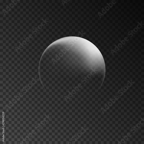 Fotografía  Concept of waning moon
