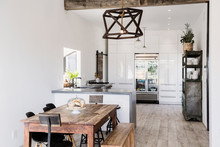 Open Plan Kitchen And Dining R...