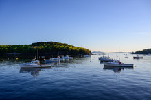 Fishing Boats In Bar Harbor, M...
