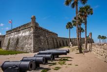 Cannons By Castillo De San Mar...