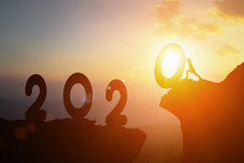 2020 New Year , Young Business...