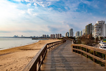 Praia De  Punta Del Este, Urug...