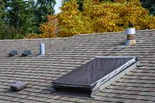 Suburban House Rooftop, Asphal...