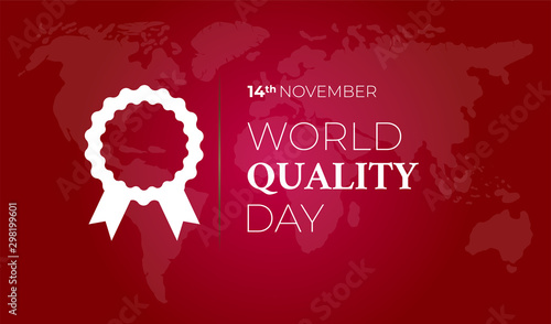 World Quality Day Background Illustration
