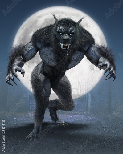 Fotografía  Werewolf - On The Prowl