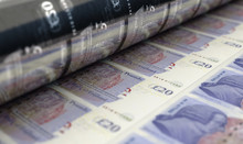 Printing British Pound Notes
