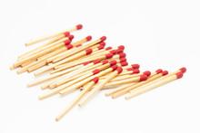 Matchstick Fire Danger White I...