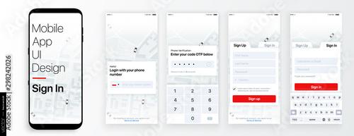 Fotomural  Design of the Mobile Application UI, UX