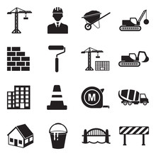 Building And Construction Icon...