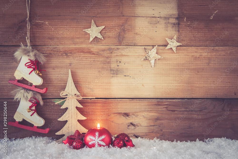 Fototapety, obrazy: christmas background
