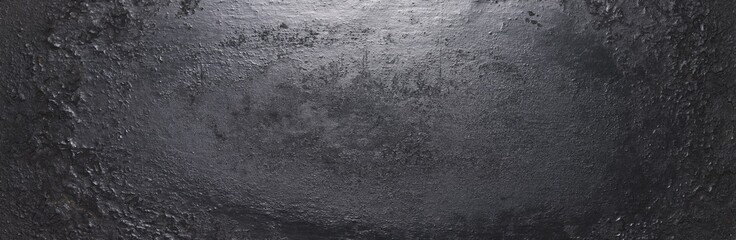 dark metal background texture or backdrop, banner size