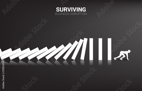 Fototapeta  surviving business disruption