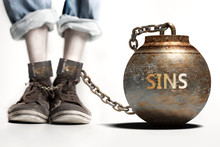 Sins Can Be A Big Weight And A...