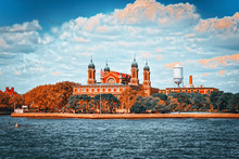 State Museum - 1 Liberty Island - Ellis Island Near New York.