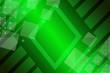 canvas print picture - abstract, blue, technology, light, business, design, wallpaper, digital, illustration, futuristic, concept, texture, graphic, green, pattern, space, arrow, backdrop, web, 3d, square, geometric, line