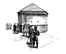 Fort Pitt Vintage Illustration