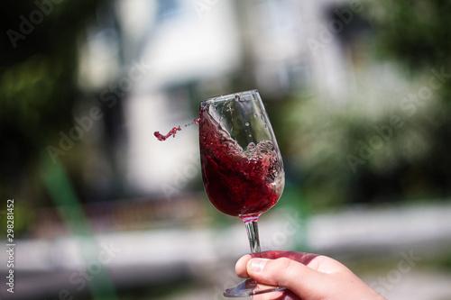 Fototapeta Red wine obraz na płótnie